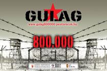 Gulág Nyolcszázezer Logo